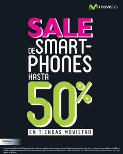 MOVISTAR tiene SALE de smartphones hasta con 50 OFF de descuento