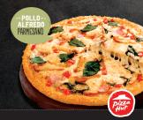 POLLO ALFREDO PARMESANO nueva pizza hut