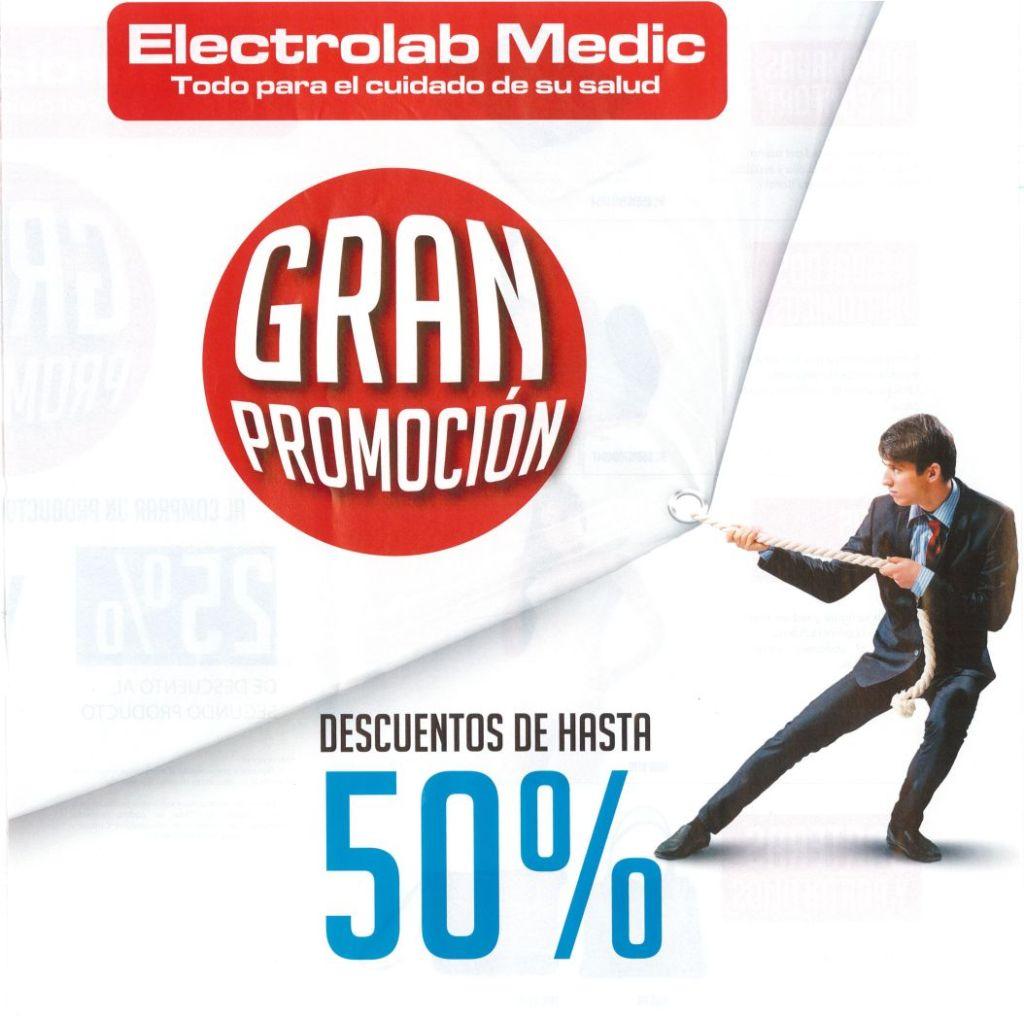 Promociones ELECTRO LAC medic care healty