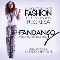 Regresa la boutique mas fashion de el salvador FANDANGO