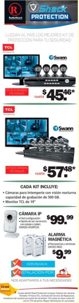 SWANN digital secutiry cameras PROMOTIONS radio shack