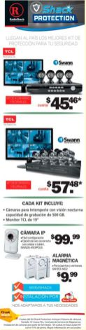 SWANN digital secutiry cameras PROMOTIONS radio shack