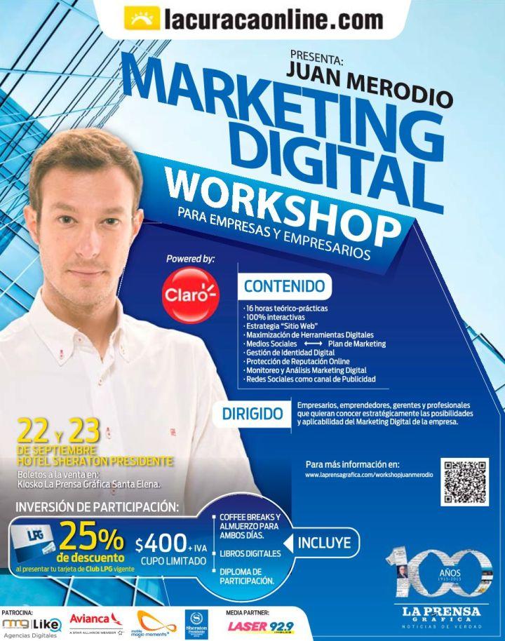 Seminario de marketing digital y redes sociales con JUAN MERODIO