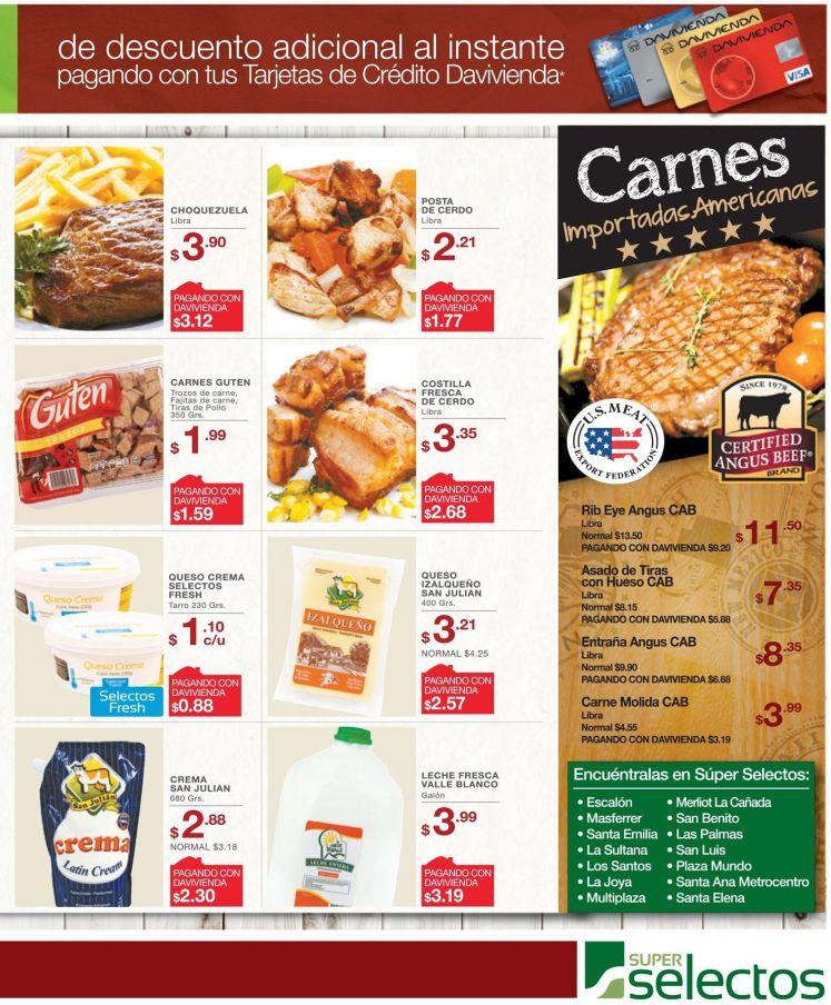 Todo lo que buscas con promociones en carnes importadas en selectos