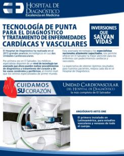 Tratamiento de enfermedades CARDIACAS y VASCULARES en hospital de diagnostico