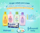 WALMART El mejor cuidado para tu BEBE con productos JOHNSON