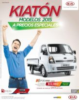 autos KIA trucks models 2015 con precios especiales - 08sep15