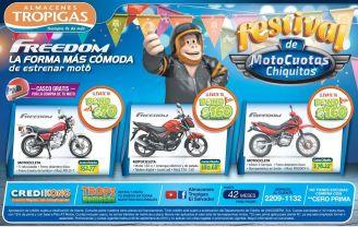 compra tu moto en tropigas con cuotas chiquitas