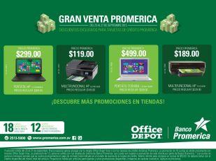 gran venta PROMERICA en office depot el salvador - 22sep15