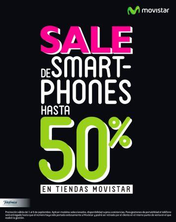 gran venta de smartphones en MOVISTAR el salvador - 04sep15