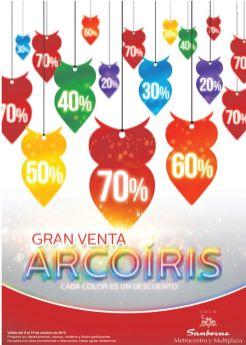 Ahora comienza la gran venta de ARCOIrIS gracias a SAMBORS - 09oct15