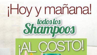 Compra al costo tu shampoo favorito en selectos