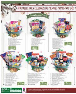 Detalles para celebrar los momentos de navidad con canastas super selectos
