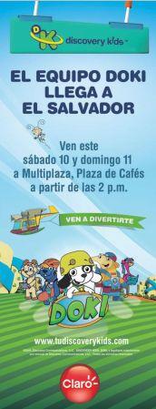 Discovery Kids and MULTIPLAZA presenta al equipo DOKI
