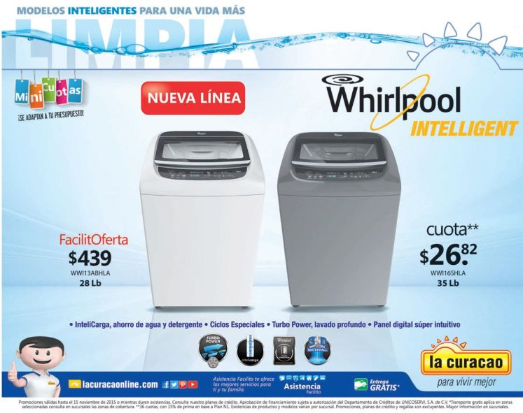 Facil oferta WHIRPOOL intelligent electronic device for home
