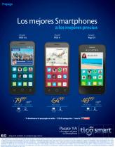 Los smartphone mas vendidos y preferidos de tiGO
