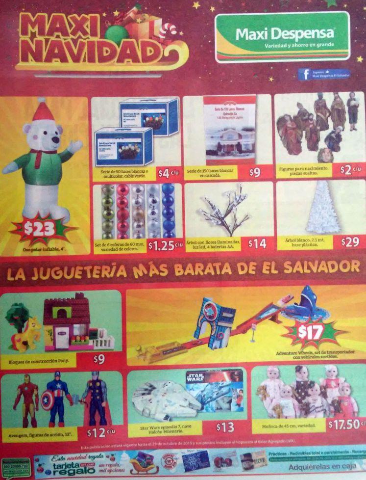 MAXI navidad ofertas y descuentos en juguetes - 23oct15