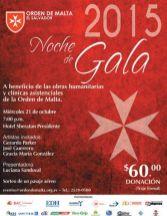 NOCHE de gala 2015 orden de malta el salvador