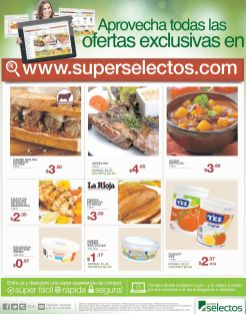 Online exclusive deals via SUPERSELECTOS supermarket store