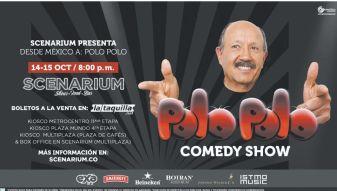 POLO POLO comedy show el salvador 2015