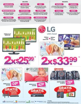 Promociones 2x en tus electrodomesticos favoritos via Agencias WAY