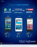 Tu nuevo smartphone TIGO desde 50 dolares