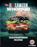 new BURGER KING for HALLOWEEN escalofriante y deliciosa