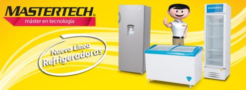 new series line MASTERTECH refrigerators LA CURACAO