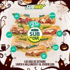 no te perdas el OCTUBRE los subway del dia