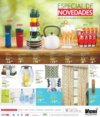 Especial de novedades navideñas 2015 almacenes VIDRI