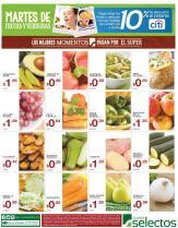 Frutas y Verduras para tus casa este marte en selectos - 24nov15