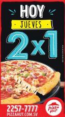 HOY jueves pizza hut al 2x1 - 26nov15