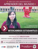 Intercambios estudiantiles en universidad tecnologica de el salvador
