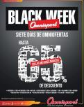 Omnisport BLACK WEEK 2015 descuentos 7 dias completos