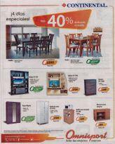 Omnisport presente 4 dias con descuentos especiales en muebles - 06nov15
