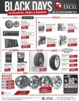Repuestos y accesorios para carros BLACK DAYS ofertas 2015