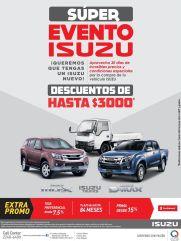 Super evento IZUSU 2015 descuento en pick ups and trucks