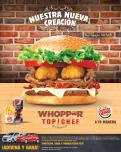 new WHOPPER TOP CHEF by francisco en BURGE KING
