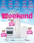 white weekend descuentos en electrodomesticos
