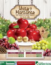 A las 12 nos comeremos 12 uvas y manzanas para las prosperidad
