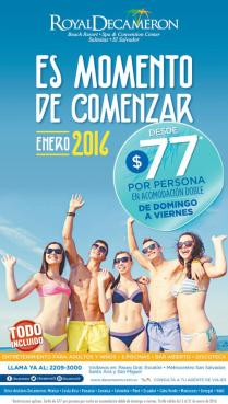 All inclusive package for beash resort DECAMERON