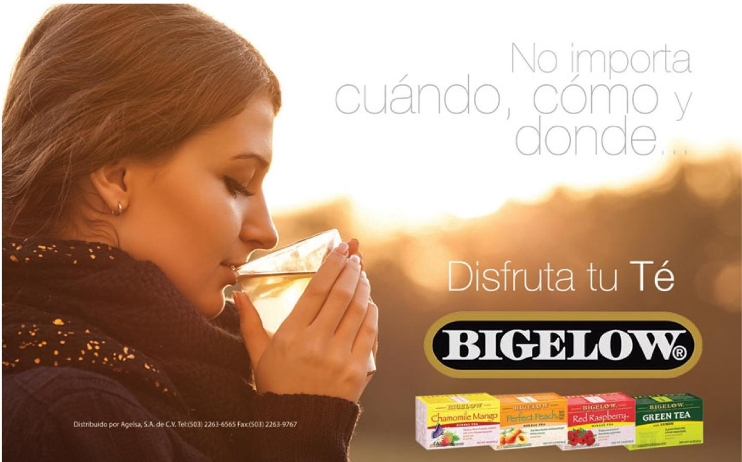 BIGELOW tea flavors for all time