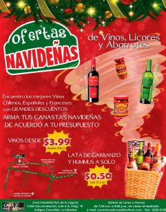 Canastas y licores gourmets for christmast holidays