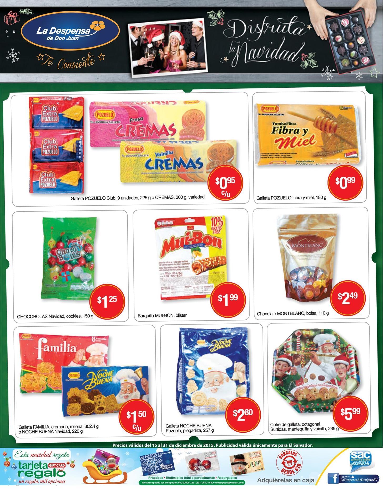 Dulces Caramelos CHocolates Galletas DESPENSA DE DON JUAN - 15dic15