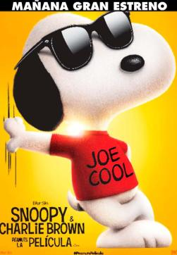 ESTRENO de la pelicula de SNOOPY and charly brown