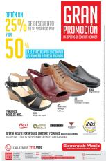 GRAN promociones en zapatos medicos y ortopedicos
