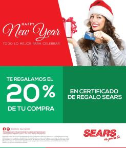 HOLIDAYS new year discounts SEARS