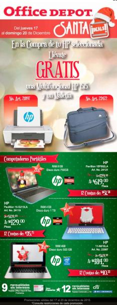 OFFICE DEPOT holidays delas on laptops computers