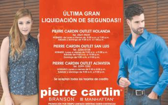 OUTLET wearing pierre cardin LIQUIDACION total