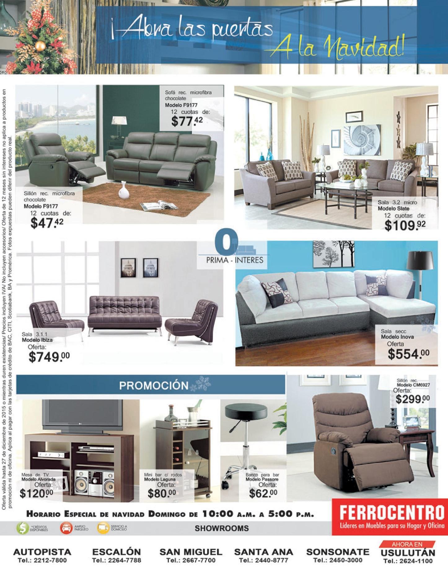 Promociones para renovar y decorar con muebles nuevos en navidad